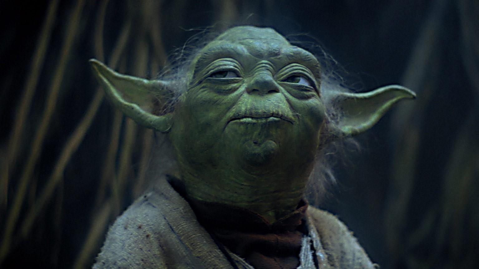 O mestre jedi Yoda