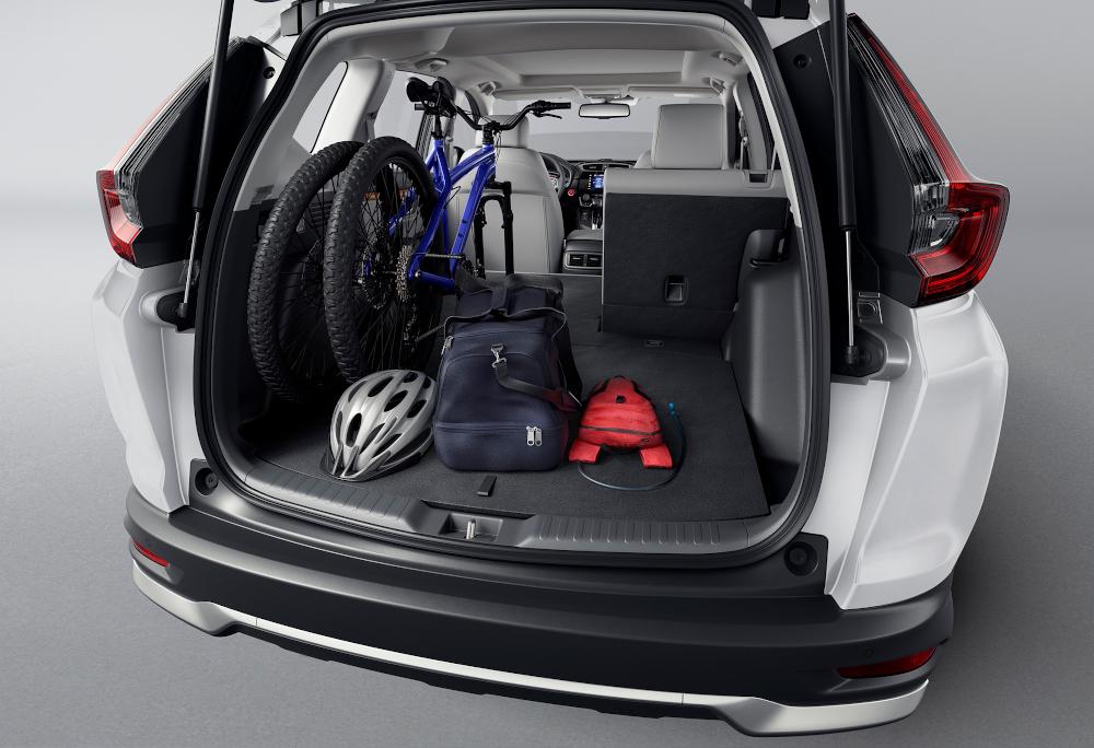Na posição normal, o bagageiro leva até 522 litros
