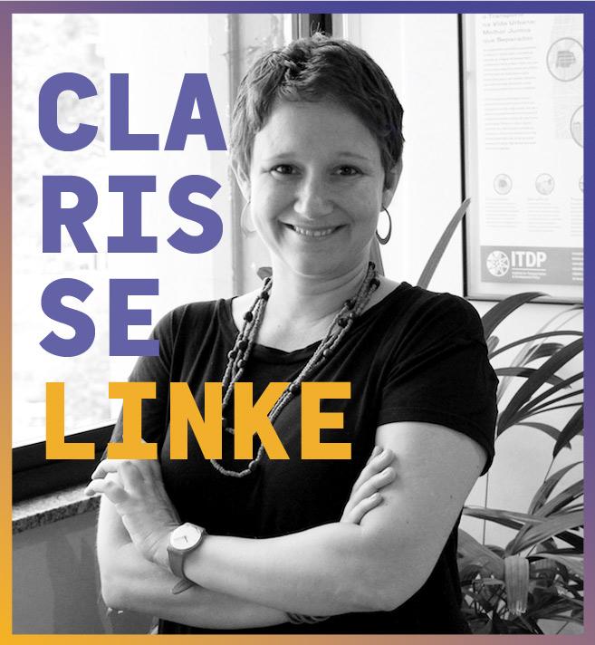 imagem do palestrante do agenda bahia seminário cidades Clarisse Linke