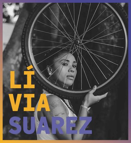 imagem da palestrante do agenda bahia seminário cidades Lívia Suarez
